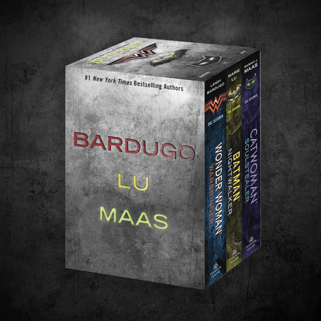 The DC Icons Series Boxed Set by Leigh Bardugo, Marie Lu and Sarah J. Maas