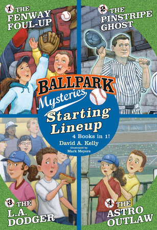 Ballpark Mysteries: Starting Lineup (Books 1-4) by David A. Kelly