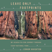 Leave Only Footprints Cover