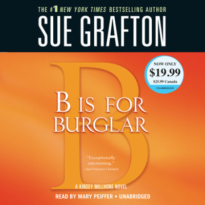 B Is for Burglar cover