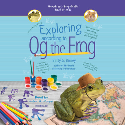 Exploring According to Og the Frog cover