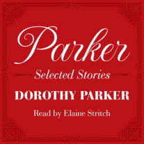 Parker: Selected Stories Cover