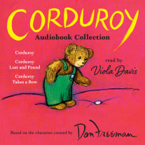 Corduroy Audiobook Collection Cover