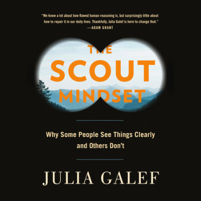 The Scout Mindset cover