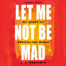 Let Me Not Be Mad Cover