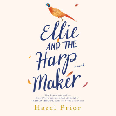 Ellie and the Harpmaker cover