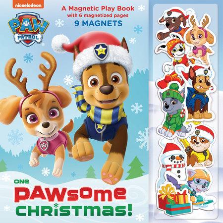 Paw Patrol Christmas.One Paw Some Christmas A Magnetic Play Book Paw Patrol By Random House 9781984895028 Penguinrandomhouse Com Books