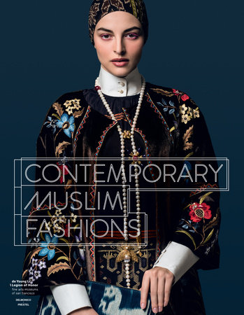The cover of the book Contemporary Muslim Fashions
