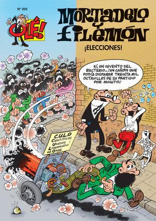 Mortadelo y Filemon 203 / Mortadelo and Filemon 203 by F. (ILT) Ibanez